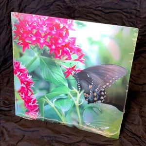 """""""Butterfly's Delight"""" Signed Metal Print"""